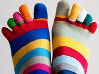 Tipps von A-Z / S wie Socken anziehen