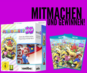 Gewinnt das neue Spiel Mario Party 10 von Nintendo