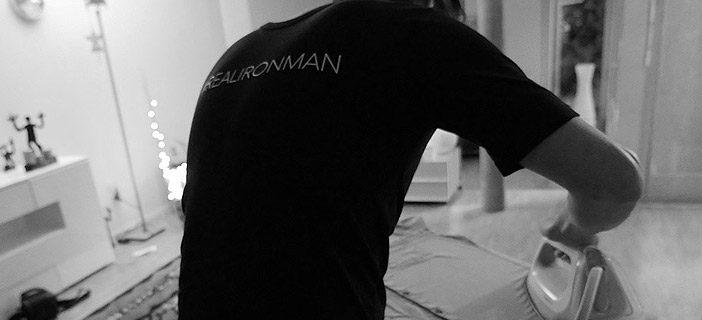 The #REALIRONMAN – und er bügelt und bügelt, bis zum Sonnenuntergang…